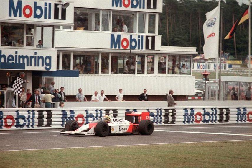 Ayrton Senna, Hockenheimring, 1988, 1989, 1990