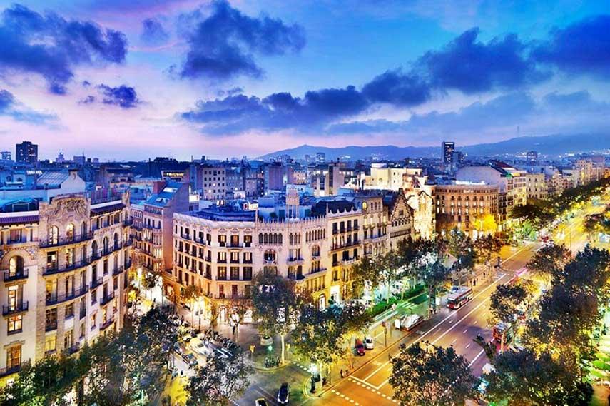 City of Barcelona, 2016, accommodation, hotels, Spain Grand Prix 2017