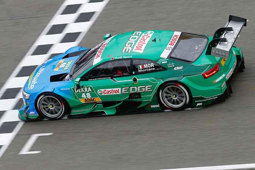 Edoardo Mortara, DTM Audi