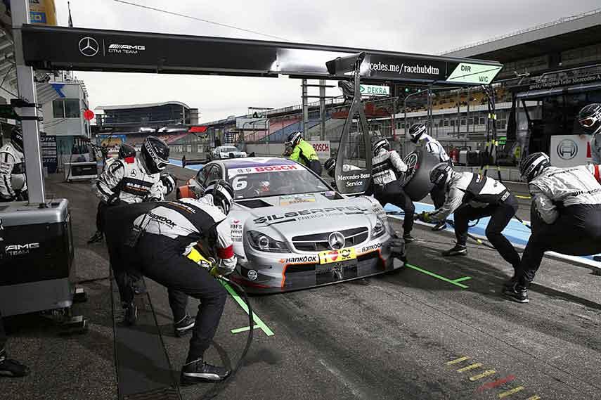 Robert Wickens Mercedes-AMG C63 DTM