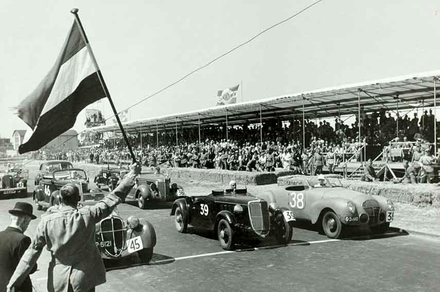 Zandvoort park circuit contact history information event news track facebook