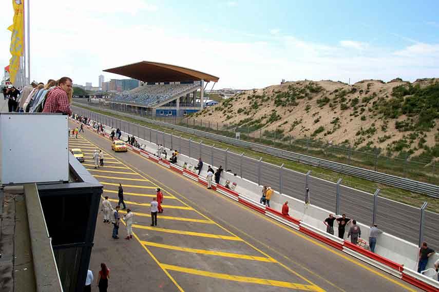 Zandvoort circuit park 2016 cars race grand prix track