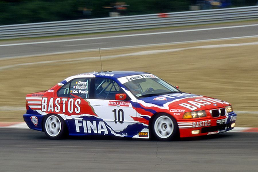 BMW 320i at 1998 Spa 24 Hours, Alain Cudini, Marc Duez, Eric van de Poele