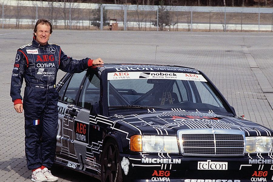 Alain Cudini spent four seasons with Mercedes in the DTM