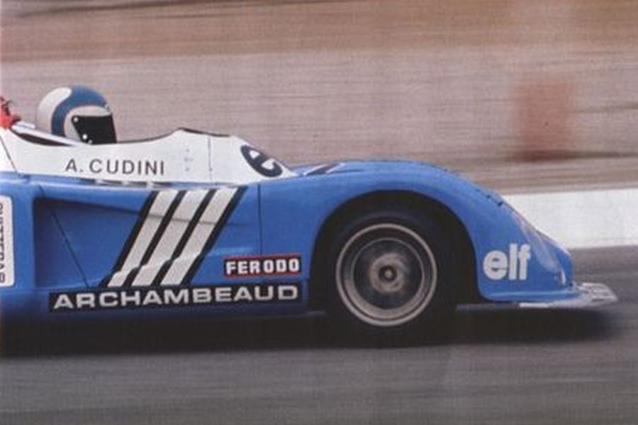 Alain Cudini in an Alpine A441