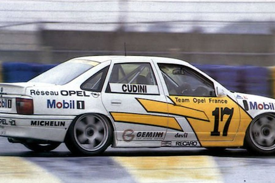 Alain Cudini spent three seasons in an Opel Vectra