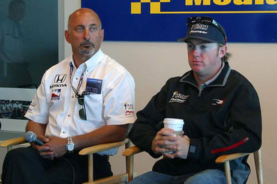 Buddy Rice spent three seasons driving for Bobby Rahal's team