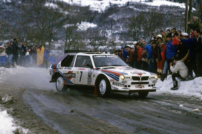 Henri Toivonen, Lancia Delta S4, 1986 Rallye Monte-Carlo