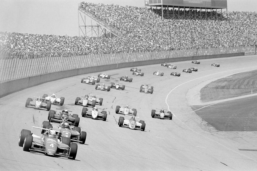 Michigan 500 race in 1985.