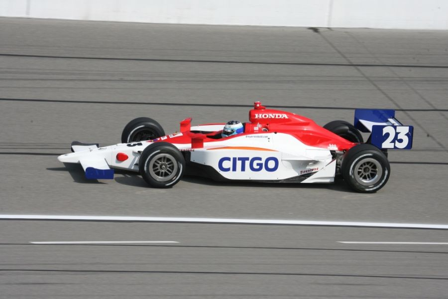 Milka Duno was driving the #23 car in three IndyCar seasons