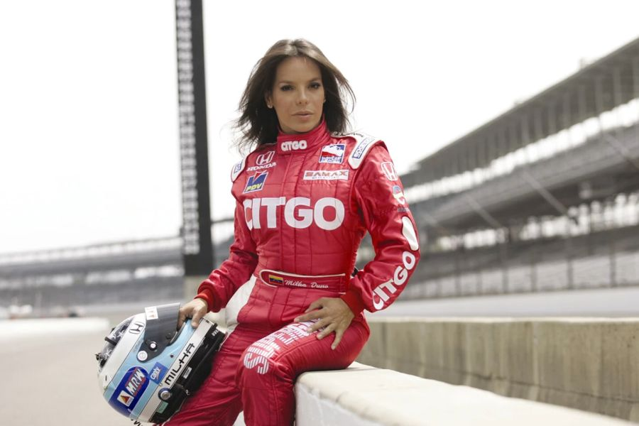 Milka Duno entered IndyCar Series with Samax in 2007