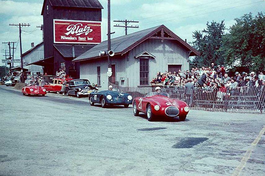 race, Elkhart Lake, 1952