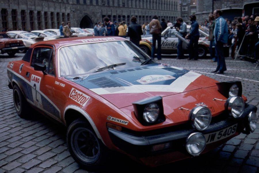 Tony Pond's Triumph TR7 V8