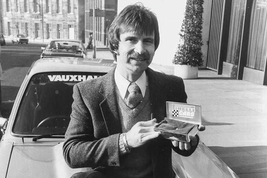 British rally legend Tony Pond