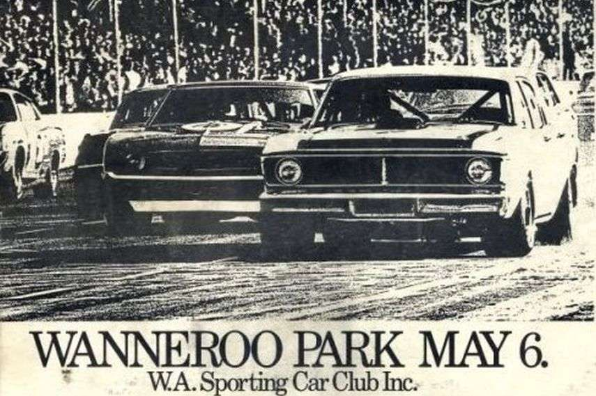 Press clipping of the first ATCC race in Wanneroo Park 1973