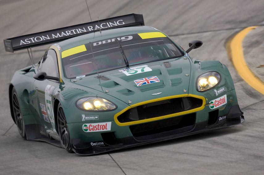 Aston Martin Racing, DBR9, Sebring 2005