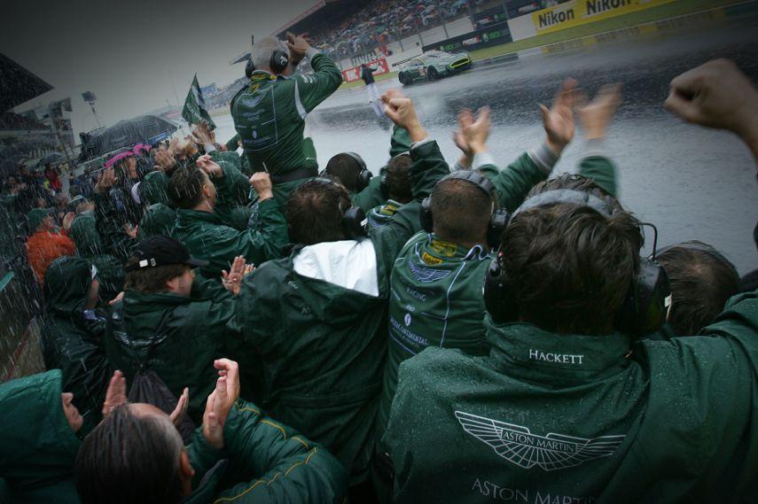2007 24 hours of Le Mans, Aston Martin Racing DBR9 GT1 class