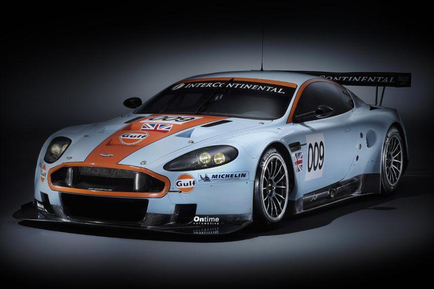 Aston Martin Racing DBR9, 2008 Le Mans class win