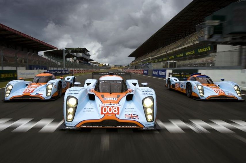 2009 Le Mans 24h, Aston Martin Racing, Lola B09/60