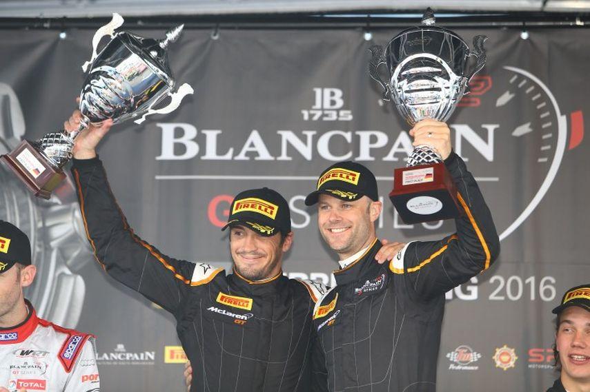 Alvaro Parente and Rob Bell, Blancpain GT Series