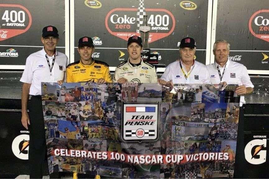 NASCAR Sprint Cup Series, 2016 Coke Zero, Brad Keselowski, Team Penske