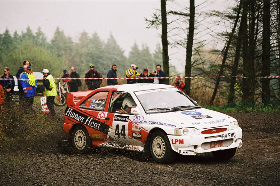 Janne Tuohino 1999 RallyGB, Ford Escort WRC