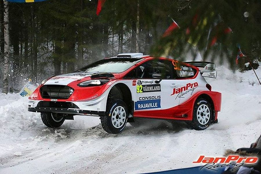Janne Tuohino at 2019 Rally Sweden