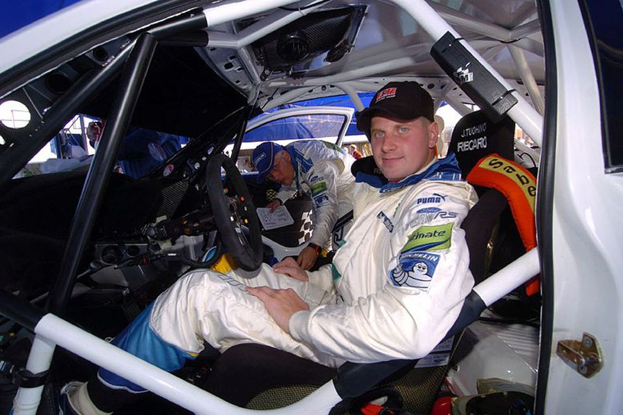 Janne Tuohino as Ford factory driver