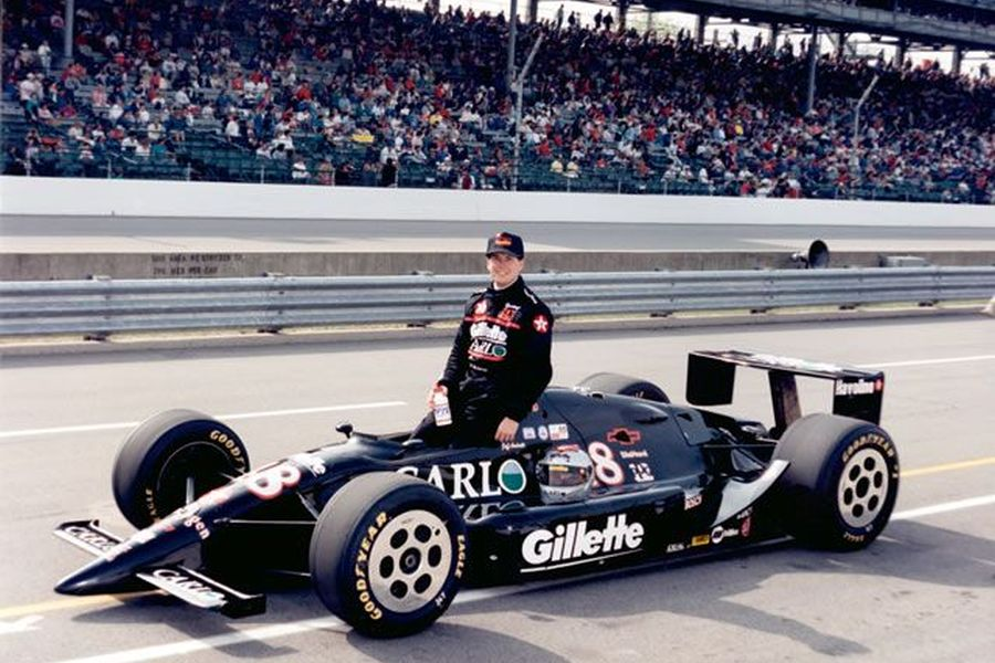 Jeff Andretti at 1993 Indianapolis 500