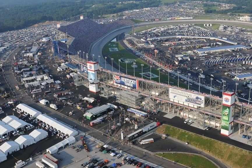 Kentucky Speedway, Sparta, NASCAR
