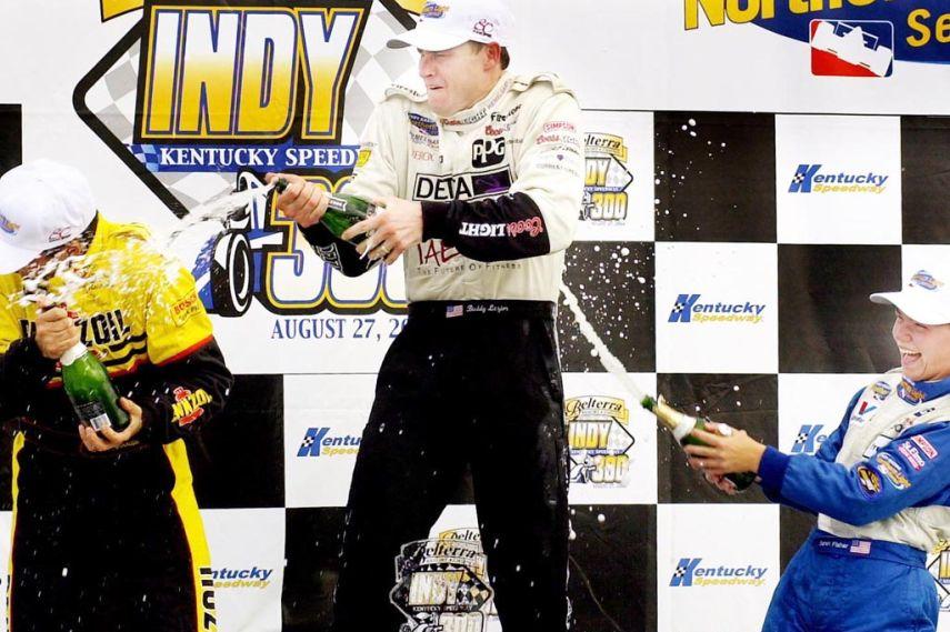 Buddy Lazier, Indy Car, Kentucky Speedway