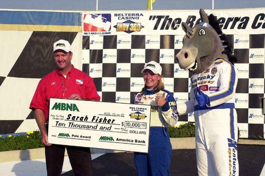 2002 IndyCar, Kentucky, Sarah Fisher