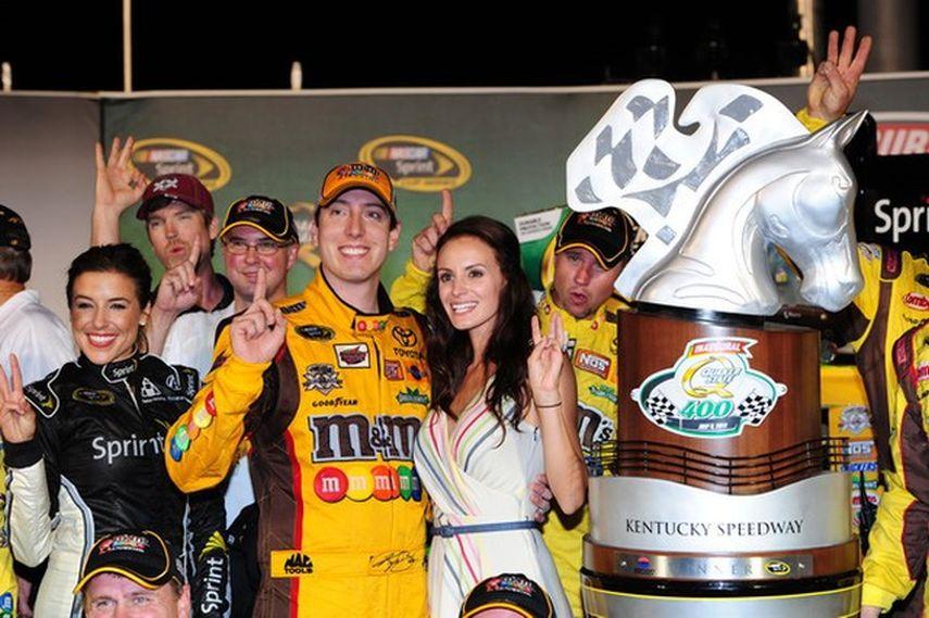 Kyle Busch, Kentucky Speedway, five NASCAR wins in Sparta