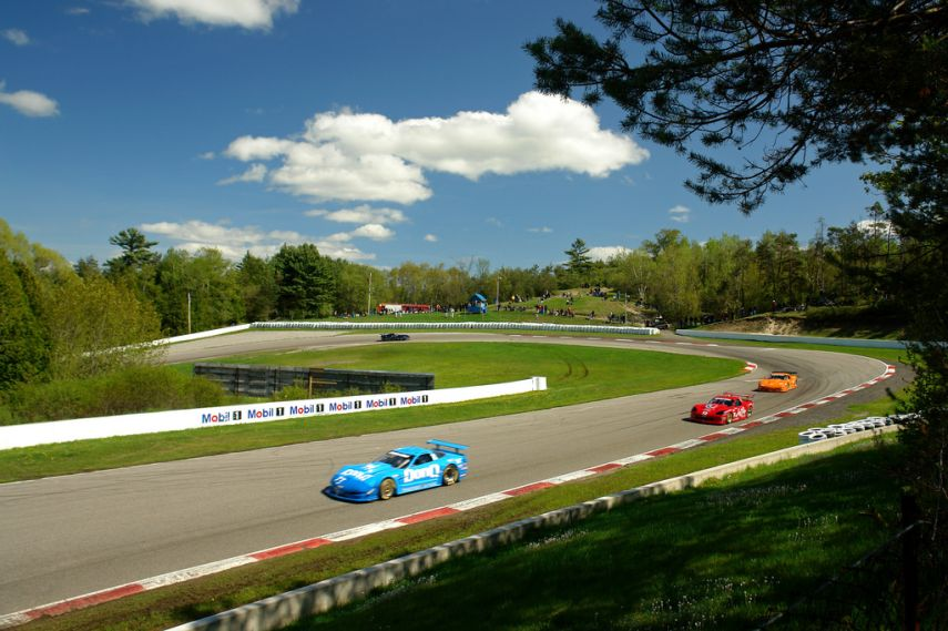 Sunny day at Canadian Tire Motorsport Park, Trans-Am cars, 1976 - 2014