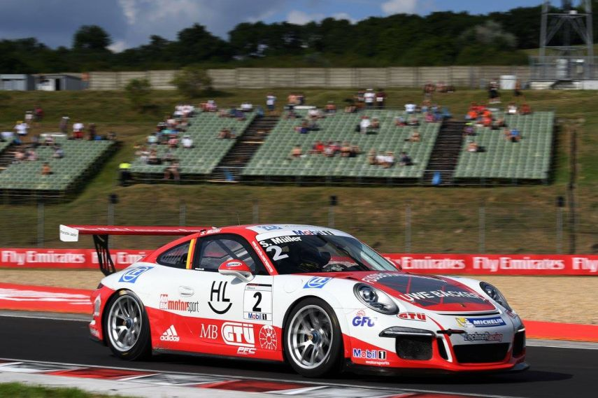 Sven Muller wins Porsche Supercup race at Hungaroring