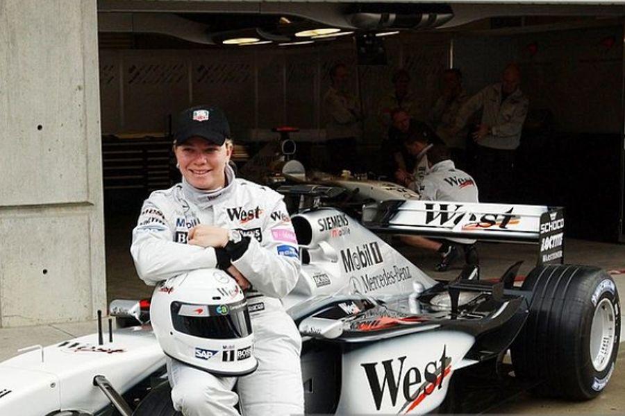 Sarah Fisher, 2002 F1 McLaren