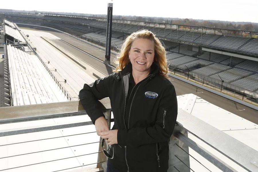 Sarah Fisher was the first ever female driver/owner in an IndyCar history