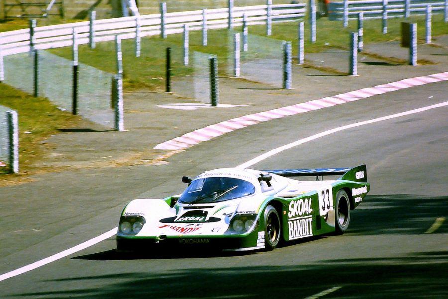 Sarel van der Merwe's Porsche at 1984 Le Mans 24 Hours