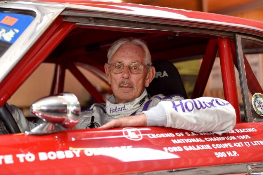 South African racing legend Sarel van der Merwe