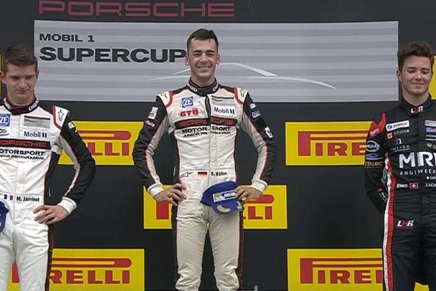 Sven Muller, Porsche Supercup Red Bull Ring
