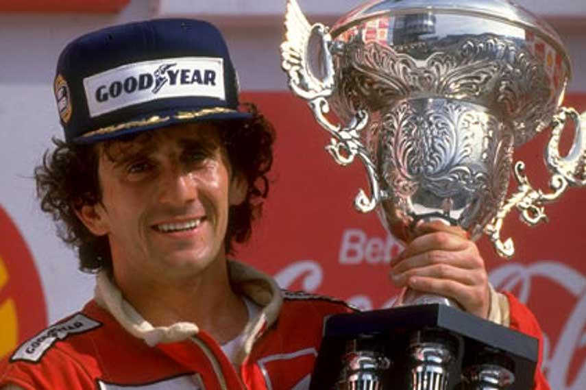 Alain Prost formula grand prix ferrari united brabham