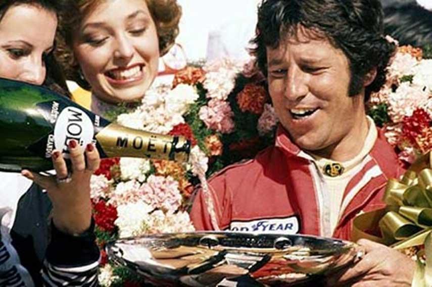 Mario Andretti Formula race 1970 lotus Ferrari winning McLaren season Brabham Rindt