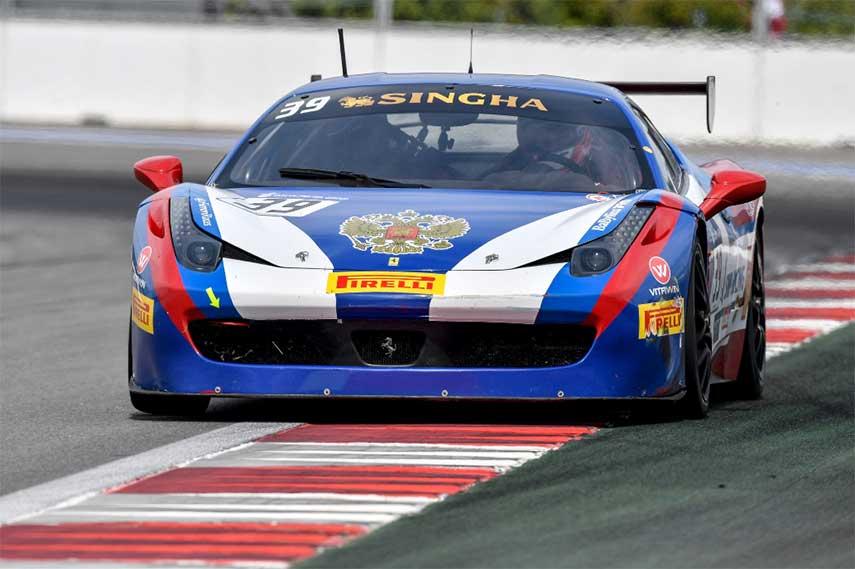 Vladimir Atoev Ferrari Challenge