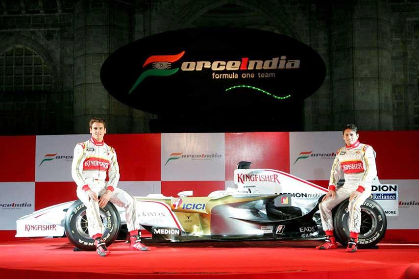 Force India formula 2016 british news mazepin sergio perez