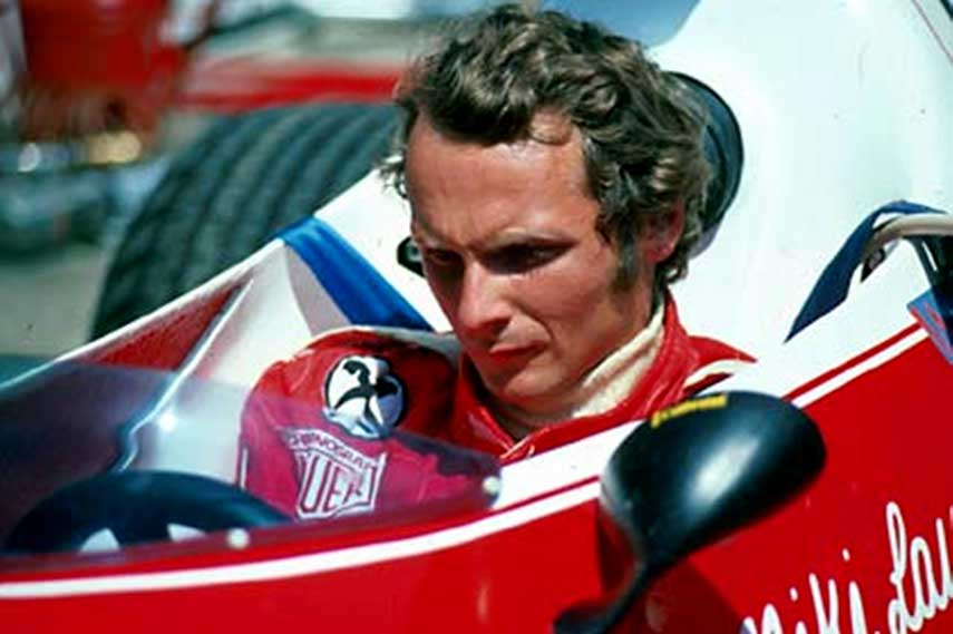 Niki Lauda Formula Ferrari race grand prix season Rindt