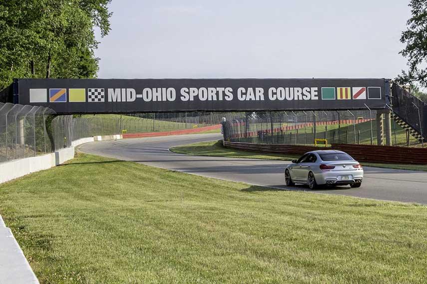 Mid Ohio Sports Car Course race Lexington track