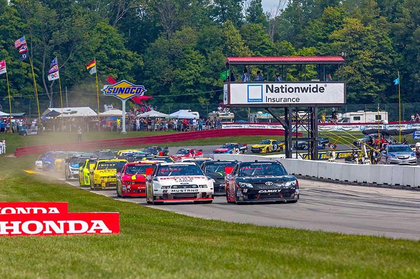 Mid-Ohio NASCAR