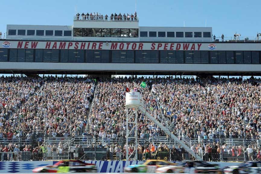 New Hampshire Motor Speedway NASCAR july 2017 cup world fans vegas news september