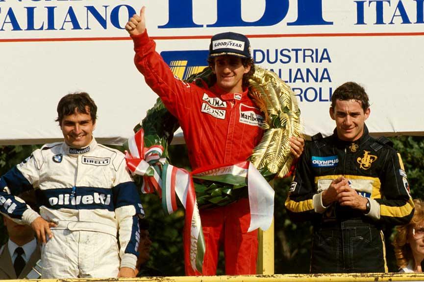 Formula Piquet Prost Senna
