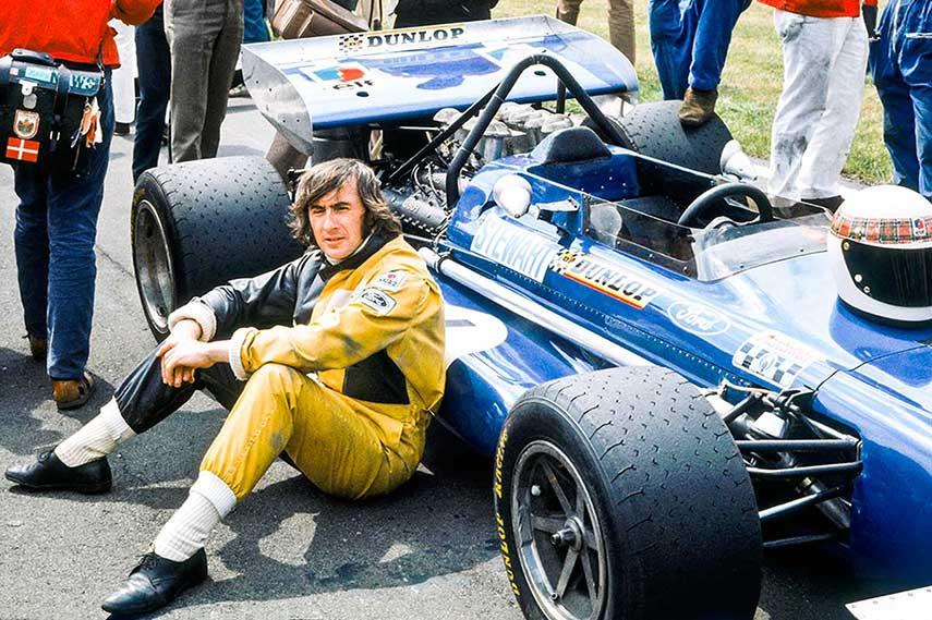 Jackie Stewart Formula season brabham grand prix race Rindt lotus